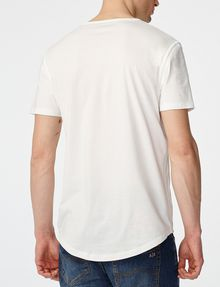 ARMANI EXCHANGE Seamed Arm V-Neck Short Sleeve Tee U r