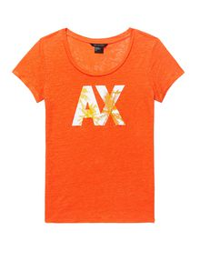 ARMANI EXCHANGE A|X Palm Tee Short Sleeve Tee D d