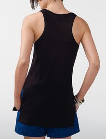 ARMANI EXCHANGE Side-Split Tank Tank top [*** pickupInStoreShipping_info ***] r