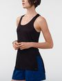 ARMANI EXCHANGE Side-Split Tank Tank top [*** pickupInStoreShipping_info ***] d