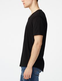 ARMANI EXCHANGE Seamed Arm V-Neck Short Sleeve Tee U d
