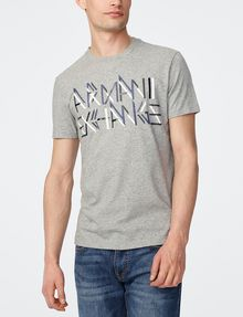 ARMANI EXCHANGE Linebreak Logo Tee Graphic Tee U f
