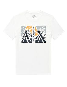 ARMANI EXCHANGE Shattered A|X Tee Graphic T-shirt U d