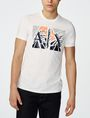 ARMANI EXCHANGE Shattered A|X Tee Graphic Tee U f