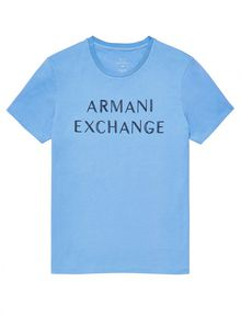 ARMANI EXCHANGE Beachy Basic Logo Tee Graphic T-shirt U d