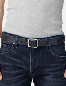 ARMANI EXCHANGE Bicolor Leather Belt Belt U d