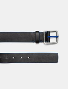 ARMANI EXCHANGE Bicolor Leather Belt Belt Man f