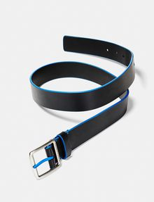 ARMANI EXCHANGE Bicolor Leather Belt Belt Man r