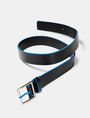 ARMANI EXCHANGE Bicolor Leather Belt Belt [*** pickupInStoreShippingNotGuaranteed_info ***] r