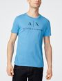 ARMANI EXCHANGE Classic Logo Crewneck Tee Graphic T-shirt Man f