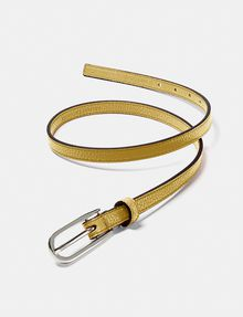 ARMANI EXCHANGE Skinny Faux-Leather Belt Belt [*** pickupInStoreShipping_info ***] r