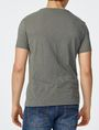 ARMANI EXCHANGE Hibiscus Logo Crew Graphic T-shirt Man r