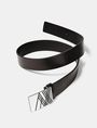 ARMANI EXCHANGE Linear A|X Placque Belt Belt [*** pickupInStoreShippingNotGuaranteed_info ***] r