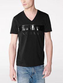 ARMANI EXCHANGE Back To Basics Logo Tee Graphic T-shirt U f