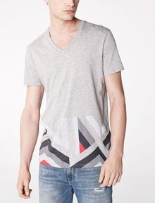 ARMANI EXCHANGE Hem Print Graphic Tee Graphic T-shirt U f