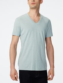 ARMANI EXCHANGE Pima V-Neck Tee Pima Tee Man f