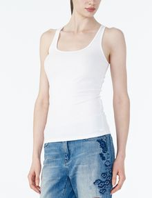 ARMANI EXCHANGE Ribbed Racerback Tank Tank top D d
