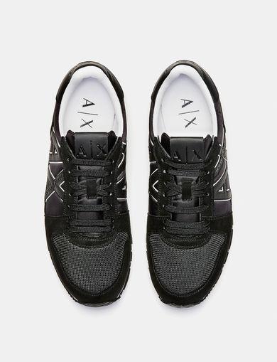 ARMANI EXCHANGE Sporty Logo Sneaker Man retro