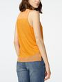 ARMANI EXCHANGE Pieced Linen Tank Tank top Woman r