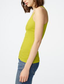 ARMANI EXCHANGE Ribbed Racerback Tank Tank top Woman d