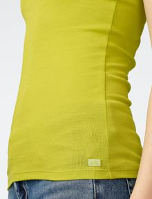 ARMANI EXCHANGE Ribbed Racerback Tank Tank top Woman e