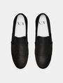 ARMANI EXCHANGE Perforated Slip-On Sneaker Sneakers Man r