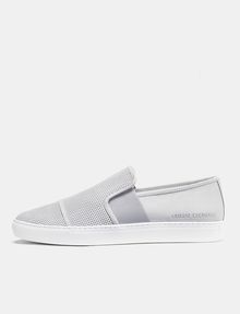 ARMANI EXCHANGE Perforated Slip-On Sneaker Sneakers Man f