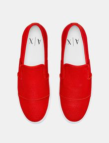 ARMANI EXCHANGE Perforated Slip-On Sneaker Sneakers U r