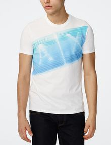 ARMANI EXCHANGE A|X Wave Crew Graphic Tee U f