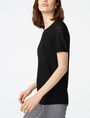 ARMANI EXCHANGE Short-Sleeve Linen Sweater Crew Neck Woman d