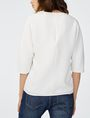 ARMANI EXCHANGE Structured V-Neck Blouse Blouse Woman r