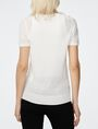 ARMANI EXCHANGE Short-Sleeve Linen Sweater Crew Neck D r