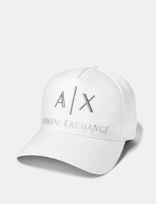 ARMANI EXCHANGE Embroidered Logo Cap Hat U f