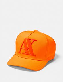 ARMANI EXCHANGE Rubber Logo Cap Hat U f