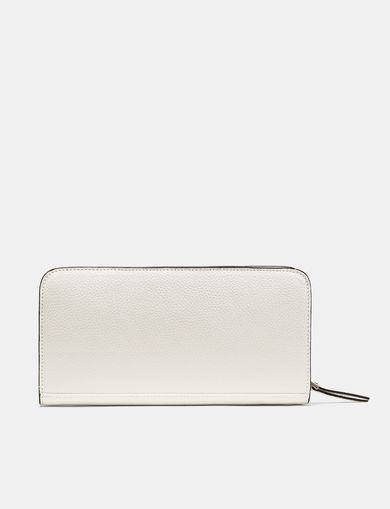 ARMANI EXCHANGE Pebbled Zip Wallet Woman retro