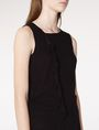 ARMANI EXCHANGE Drape-Front Shell Tank top D e