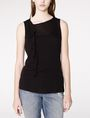 ARMANI EXCHANGE Drape-Front Shell Tank top D f
