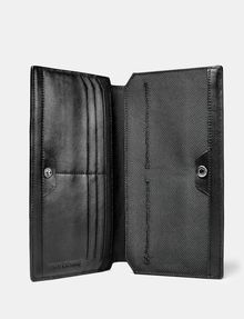 ARMANI EXCHANGE Debossed Travel Wallet Wallet U d