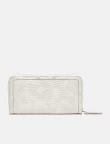 ARMANI EXCHANGE Lizard Zip Wallet Wallet Woman r