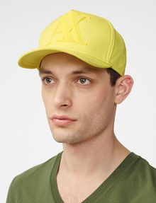 ARMANI EXCHANGE Rubber Logo Cap Hat Man d