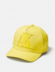 ARMANI EXCHANGE Rubber Logo Cap Hat Man f