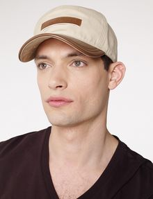 ARMANI EXCHANGE Bicolor Patch Cap Hat U d