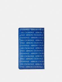 ARMANI EXCHANGE Folding Logo Cardcase Card Case [*** pickupInStoreShippingNotGuaranteed_info ***] r