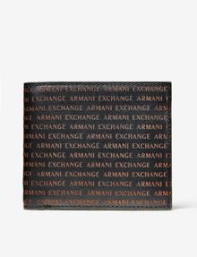 ARMANI EXCHANGE Embossed Logo Wallet Wallet U f