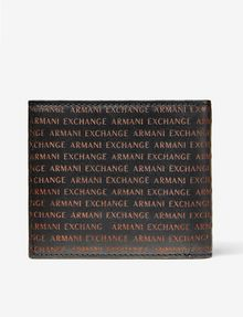 ARMANI EXCHANGE Embossed Logo Wallet Wallet U r
