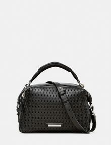 ARMANI EXCHANGE Perforated Mini Crossbody Shoulder bag D f