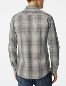 ARMANI EXCHANGE Yarn-Dyed Shifting Grid Shirt Long sleeve shirt U r