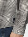 ARMANI EXCHANGE Yarn-Dyed Shifting Grid Shirt Long sleeve shirt U e