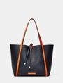 ARMANI EXCHANGE Reversible Pop Color Tote Shoulder bag D e