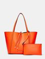 ARMANI EXCHANGE Reversible Pop Color Tote Shoulder bag D f